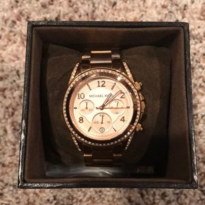 Michael Kors Rose Gold Blair Watch
